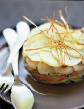 millefoglie di patate e noci